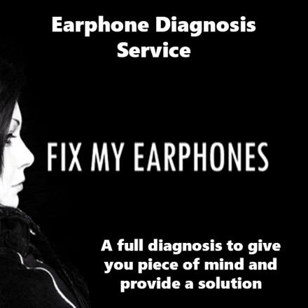 ultimate ears Earphones - Ultimate Ears Earphone Diagnosis Service