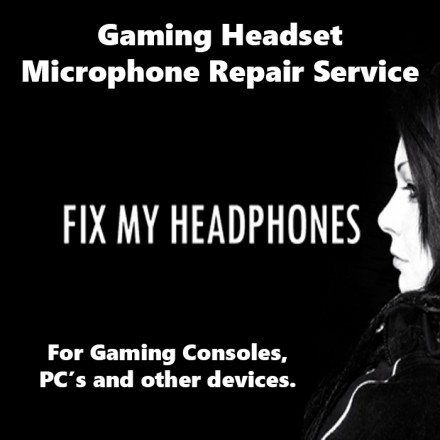 MONSTER Headphones - MONSTER Microphone Repair For Headphones