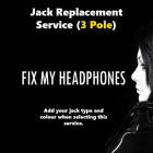 ANDREA Electronics Headphones - Andrea Electronics 3 Pole Jack Replacement For Headphones