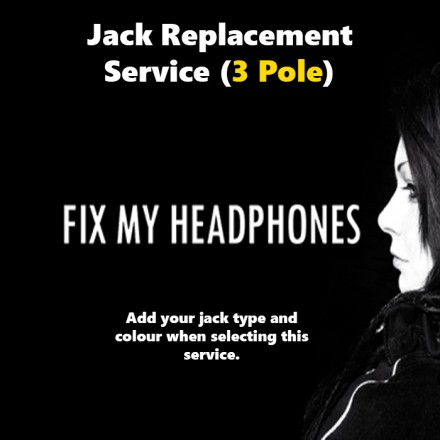 JLAB Audio Headphones - Jlab Audio 3 Pole Jack Replacement For Headphones