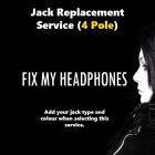 AMPLIVOX Headphones - AmpliVox 4 Pole Jack Replacement For Headphones