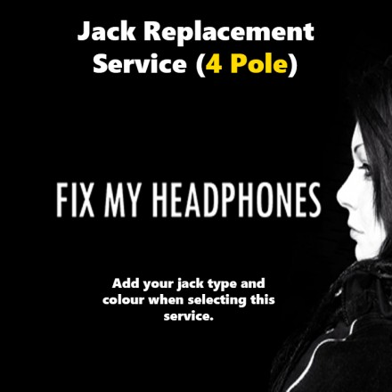 SMS AUDIO Headphones - SMS AUDIO 4 Pole Jack Replacement For Headphones