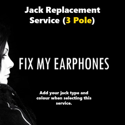 Fostex Earphones - Fostex 3 Pole Jack Replacement For Earphones