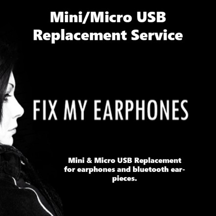 SONY Earphones - SONY USB Replacement For Earphones