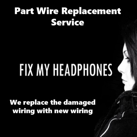 Peerless Headphones - Peerless Part Wire Replacement Service For Headphones