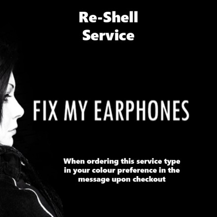 SHURE Reshell Service For Earphones
