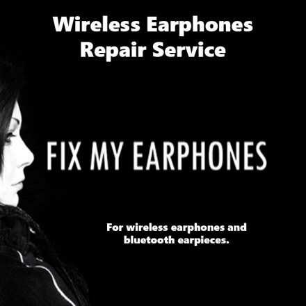 audio-technica Earphones - Audio Technica Wireless Repair For Earphones