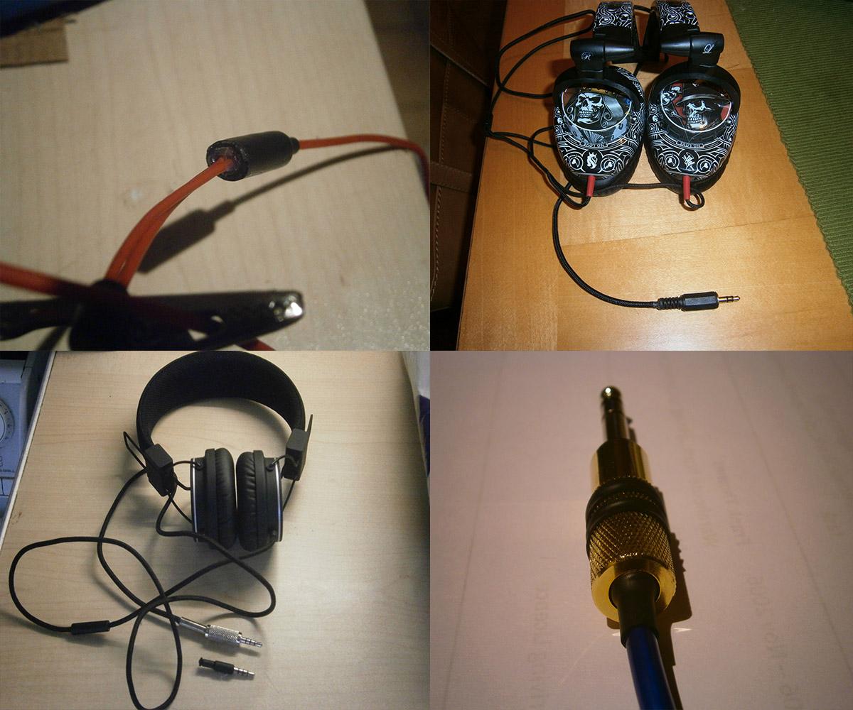 Hear buzzing sound in ear headphones